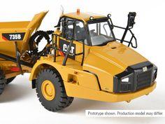 Caterpillar 735B Articulated Dump Truck  [CCM 1:48]
