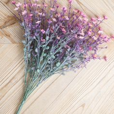 Artificial Star Flower Bush 19in Pink & Lavender – Eventfully.in