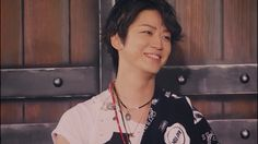 10ks Kazuya Kamenashi  Oh, kame...i don't think you understand just how much we love seeing you smile :)
