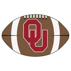 "Floor Mat 1'2""X2'2"" Fanmats Oklahoma Sooners Team Color"