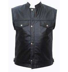 Old American men Sons of Anarchy SOA leather vest in sleeveless jacket or leather shirt style, front button hidden zipper closure designer biker vest for sales, checkout our collection of more leather vests online in Australia Motorcycle Leather Vest, Motorcycle Outfit, Biker, Fashion Wear, Mens Fashion, Sleeveless Jacket, Free Clothes, Leather Men, Casual Wear