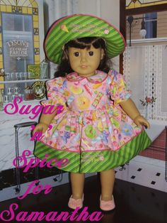 Sugar Spice and Everything Nice 18 inch by SpecialFriendsByJudy, $28.95
