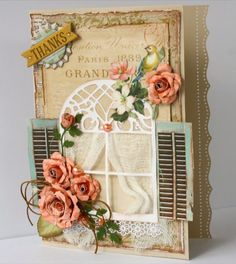 Such a Pretty Mess: Cardmaking with 'The Avenues' {Bo Bunny}
