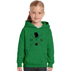 Hipster Potter Pals - Hermione Kids Hoodie