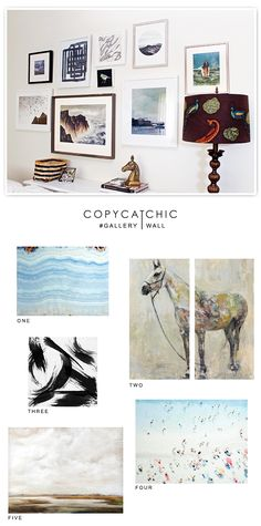 Updating my gallery wall with some favorite SALE pieces from @worldmarket | copy cat chic