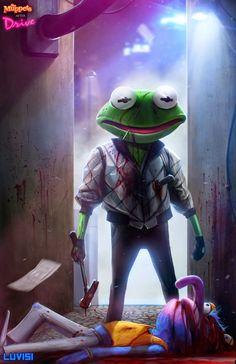 Dan LuVisi reinterpreta alguns de seus personagens favoritos, como Detona Ralph, Donald, Beto e Ênio, Buzz Lightyear entre outros.