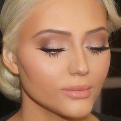 Gorgeous... skin make up and hair