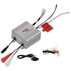Pyle Plmrmp2A Hydra Series Waterproof Mp3/Ipod(R) Marine Power Amp (2 Channels, 600W Max, 150W Rms X 2 @ 4_)