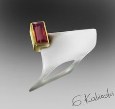 I don't know if its a ring or necklace but its cool! Ring | German Kabirski.