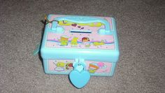 plastic bank box...i had one of these!