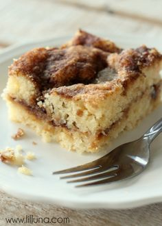 Our favorite Coffee Cake Recipe { lilluna.com }