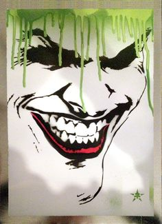 Wicked Joker Graffitti - ::the.joker:: by josiahbrooks.deviantart.com on @deviantART