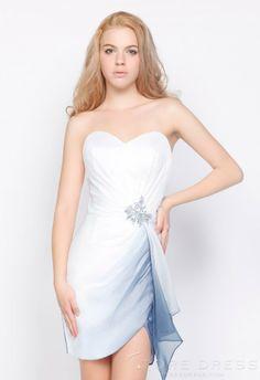 Gorgeous Sheath   Column Sweetheart Short   Mini Ruching Prom Dress 2014 -  Storedress.com on Wanelo 0e52a09cef1