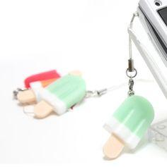 Ice Cream Bar Phone Strap