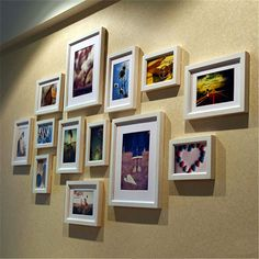 Find More Frame Information about 13pcs/set Photo Picture Wood Frame Moldura Marcos De Fotos Continental Solid Modern hanging on wall Across the vertical is ok,High Quality frame rubber,China woods real Suppliers, Cheap wood frame sofa from Handicraftsman on Aliexpress.com