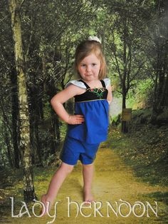 My Fairy Tale Charming Outfit Anna Sizes 2T 3T 4T by LadyHerndon, $50.00