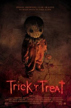 Trick 'r Treat movie poster<---favorite Halloween Movie!!!!!