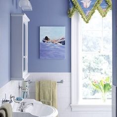 1000 images about periwinkle bathroom on pinterest for Periwinkle bathroom ideas