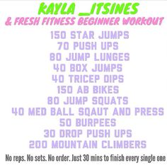 Love @kayla_itsines find her on instagram <3 Did this today even though felt so tired, and felt sooo good afterwards!!