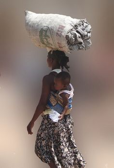 Off to the market. Ghana