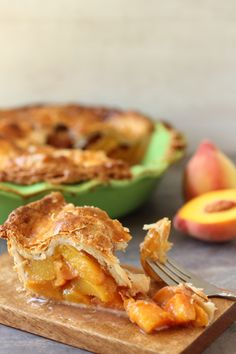 Fresh Peach and Cardamom Pie in a Buttery Crust | Foodness Gracious