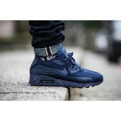 huge discount 7adbc 36456 Nike Air Max 90 Ultra Moire Midnight Navy Mens Trainers UK Sale