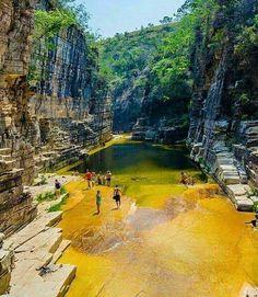 Quem disse que no Brasil não tem paraíso?!  Capitólio,Minas Gerais