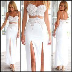 Schnüren Teilt Eingewickelt Parteien Kleid only $24.99 in ByGoods.com!