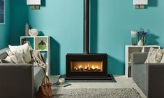 Studio 2 Freestanding Gas Fires - Gazco Contemporary Stoves, Freestanding Fires