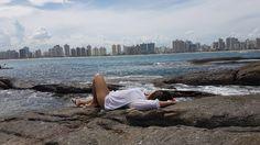 ilha Itatiaia - Itapuã   #vilavelha #ES #brasil #love #paisagem #like conhecendoomundo