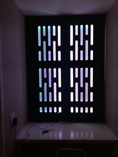 Front bottom of cabinet---(GREEN) Death Star custom wall panel with RGB lighting Deco Gamer, Hickory House, Wall Design, House Design, Star Wars Bedroom, Star Wars Halloween, Star Wars Decor, Star Wars Party, Death Star