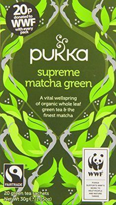 Pukka Organic Fairtrade Supreme Matcha Green Tea 30 g (Pack of 4) Pukka http://www.amazon.co.uk/dp/B00O9ZTCF6/ref=cm_sw_r_pi_dp_lLrevb1Y3RDR5