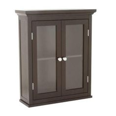 Wilshire 20 in. Wall Cabinet in Dark Espresso-HD176192 at The Home Depot