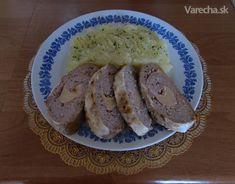 Syrovo-šunková mäsová roláda (fotorecept)