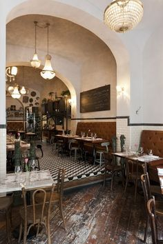 Caffè Propaganda in Rome, Stefano Scatà photographer Design Café, The Design Files, Cafe Design, Café Bar, Café Restaurant, Restaurant Design, Italian Restaurant Decor, Modern Restaurant, Commercial Design
