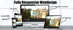 fully responsive website design प्रतिक्रियात्मक वेब डिज़ाइन, मल्टी-स्क्रीन वेबसाइटें,कुशल डिज़ाइन तकनीक,