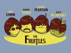 The Fruitles - Propuesta para camiseta de  Dr. Lupo presentada a concurso en Pampling. Admirala, votala y comentala en Pampling.com.  Siguenos en facebook.com/pampling