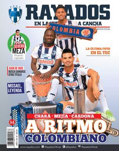 ¡La Revista #Rayados del mes de febrero ya está disponible! Adquiérela en la Tienda Rayados o tiendas de autoservicio.