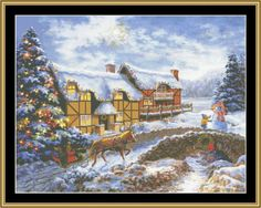 Country Cottages [NB-32] - $16.00 : Mystic Stitch Inc, The fine art of counted cross stitch patterns