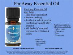 PanAway is my go to oil pain relief! www.facebook.com/WeGotOffOurMeds.com