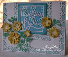 Cheery Lynn Designs Blog: Thinking of You by Jenny Alia