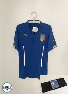 ITALY 2014 15 Special Case PLAYER ISSUE Home Football Shirt L Soccer Jersey  PUMA   5db2a6707
