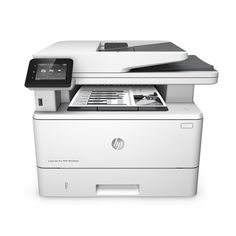 HP LaserJet Pro Black and White Multifunctional Laser Printer, Copier, Scanner, Fax - 40 ppm - 1200 x 1200 dpi - Hi-Speed USB - 100 Sheets 250 Sheets