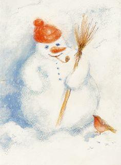 Waldorf Toys -snowman
