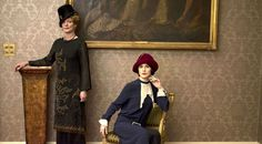 downton abbey fashion cora and robert together - Google Search