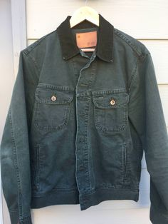 7b1b4013e41d jacka · Taylor Stitch Long Haul Jacket - Olive Canvas Size US M / EU 48-50