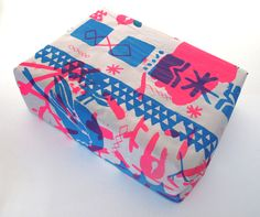 riso wrapping paper.