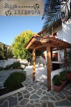 Villa Eleonora entrance. Entrance, Pergola, Villa, Outdoor Structures, Places, Entryway, Door Entry, Outdoor Pergola, Fork