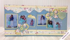 My Girls 2-page scrapbook layout (SISTERS)