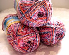 SWTC Tofutsies Superwash wool cotton blend sock yarn by crochetgal, $15.00
